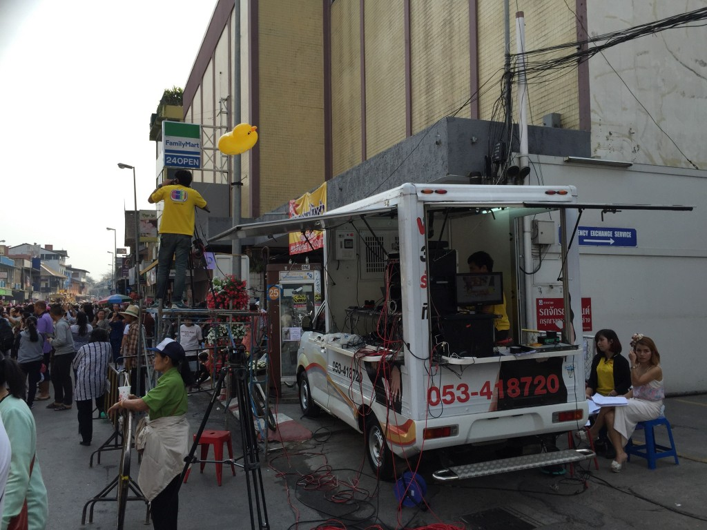 The Channel 7 Action News truck.