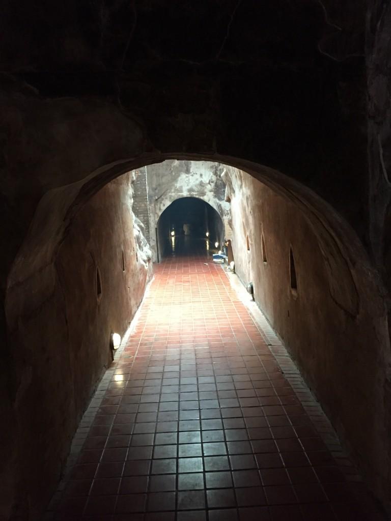 Don't go towards the light! (Go past it.)