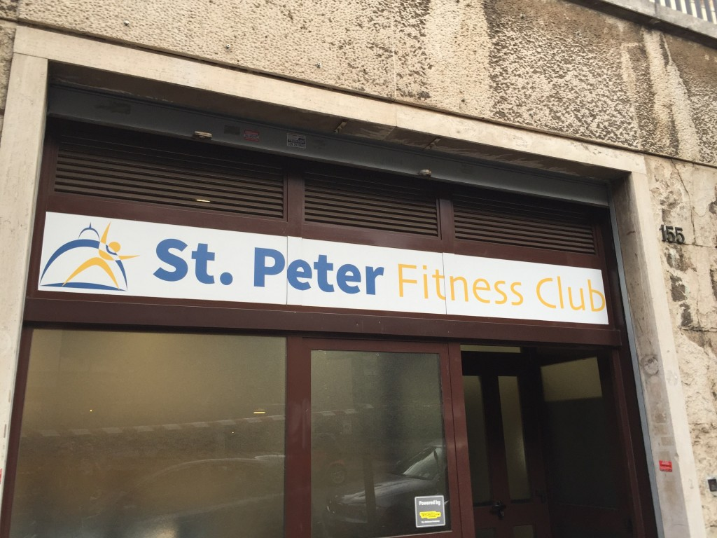 I hear they have a great flagellation class, really strips away the weight. But I wasn't in the city long enough to check it out.