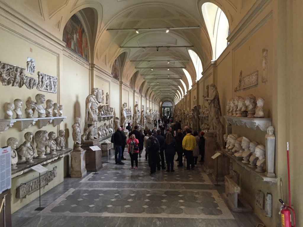 The Hall of Greco-Roman Statues. I... let me take this one out of frame... see below.