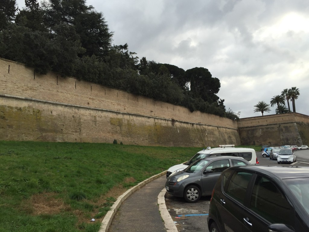 Most of the city is impenetrable wall, because there is only one path to God, and the Vatican controls the entrance. (Why bother with metaphor, when you have the power to physically create your truths?)