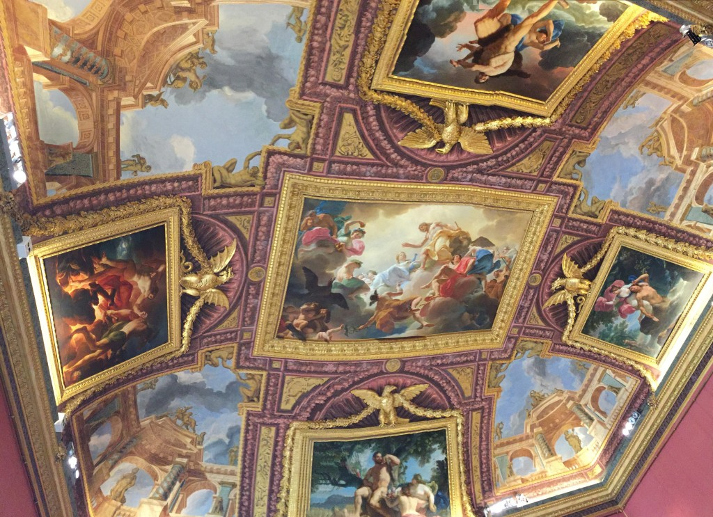 As un-overwhelmed as I was by the Sistine Chapel, I'm glad I saw it before I visited the Borghese Gallery. Vibrant colors, complex use of perspective... it's amazing what a couple of hundred years of art advancement can do for the interior decorating of the super rich.