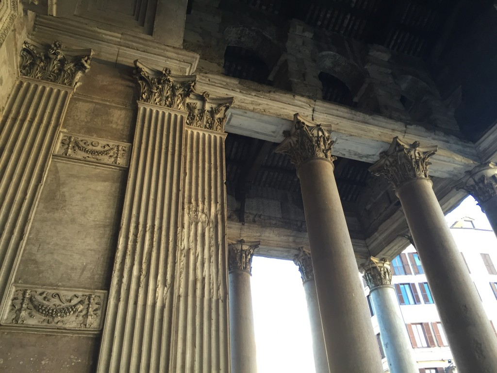 I spent a few minutes afterwards just standing in the portico, admiring the uncorrupted outer structures of the building. Felt a bit better, after.
