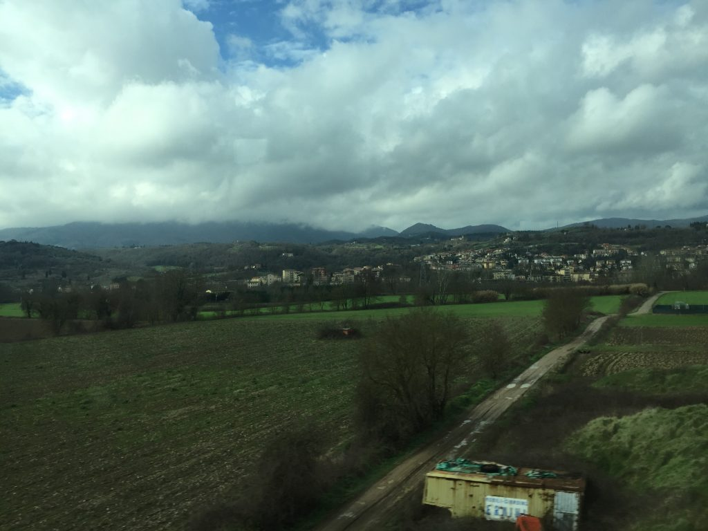 Pretty Italian countryside is pretty.