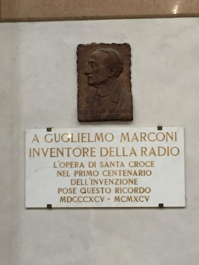 The inventor of the radio certainly deserves a mention.
