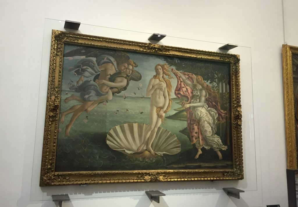 Botticelli's The Birth of Venus. As art goes, it's kind of a big deal.
