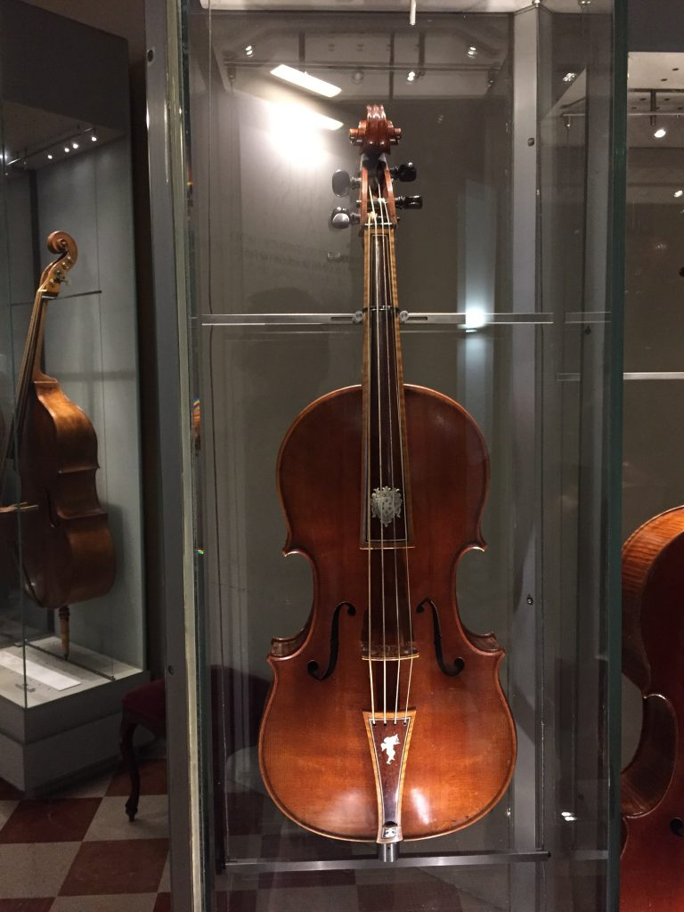 A Stradivarius. You hear about these things your whole life, so it's kind of cool to see one in person.