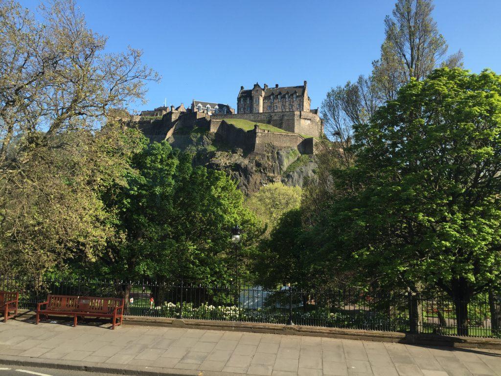 Edinburgh Castle. More on this later.