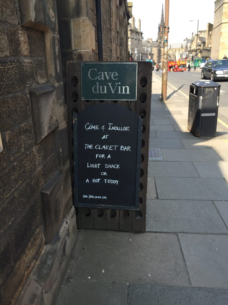 I guarantee, any place with a Claret Bar is outside of my desired price range.