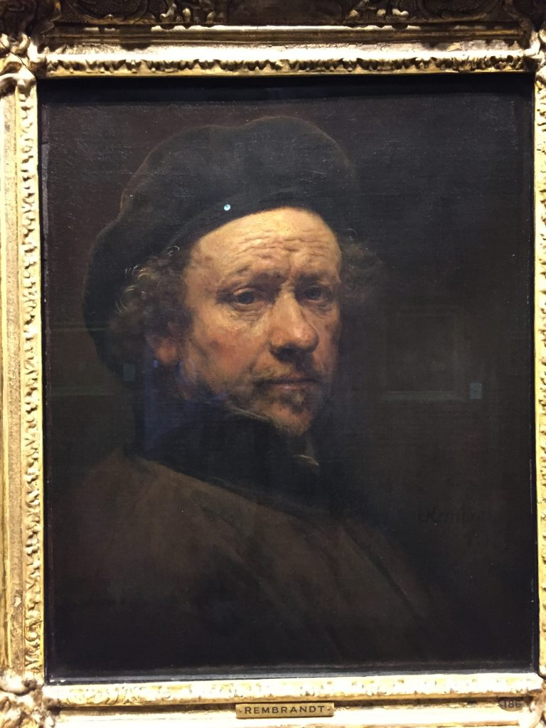 Rembrandt -- both the artist and the subject.