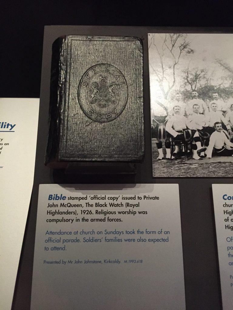 """Bible - Official Copy"". Um...."