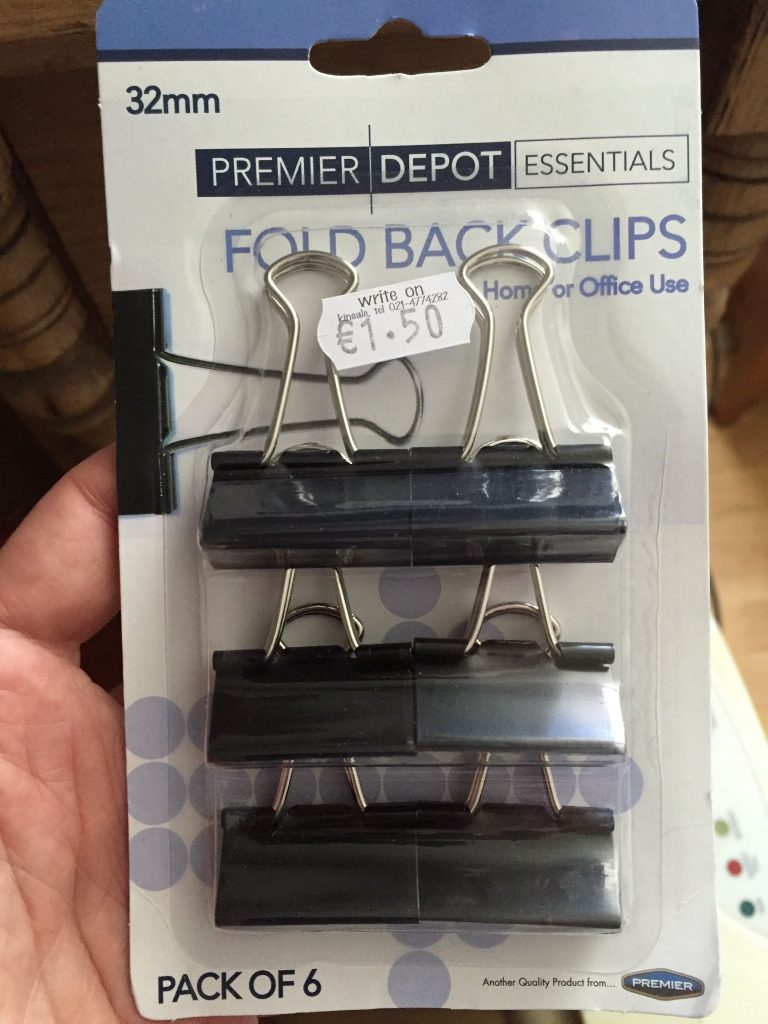 You've no idea how excited I was to find these. If I'd known how much I was going to need to close up random packages of groceries in my travels, I'd have bought them 2 years ago. I've been making do with rubber bands and plastic clothes pins ever since.