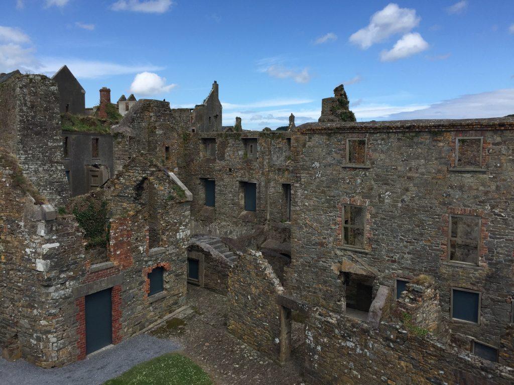 Similar barracks elsewhere in the fort.
