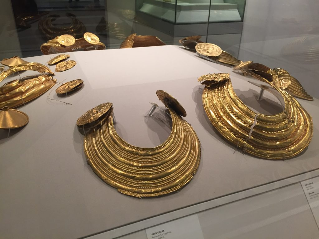 Their collection of gold torcs and other jewelry was kind of impressive. The Celts liked their bling.