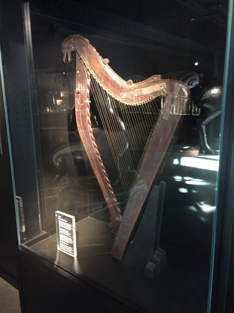 The official Guinness harp, used as their logo.